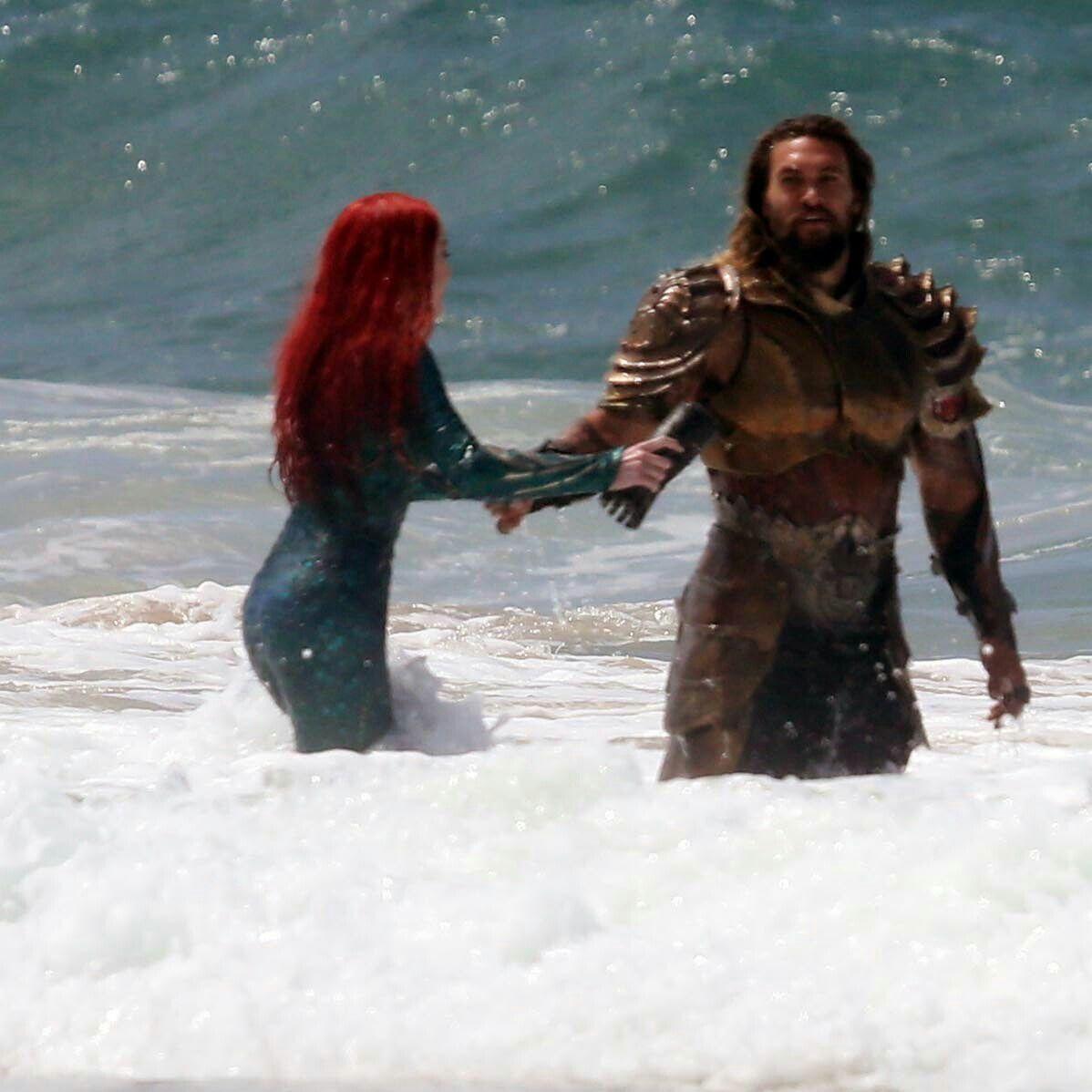 Amber Heard And Jason Momoa Photos Photos: Amber Heard And Jason Momoa As Mera & Aquaman Filming