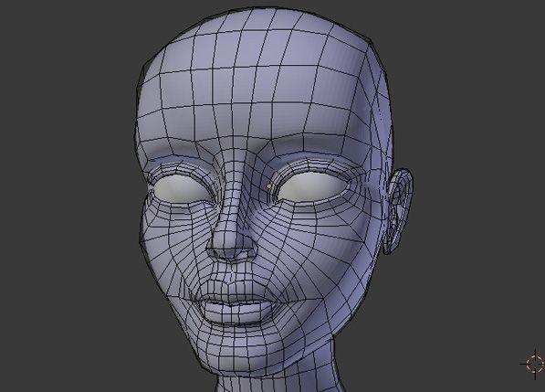Character Modeling Blender : Female character modeling in blender part tuts d