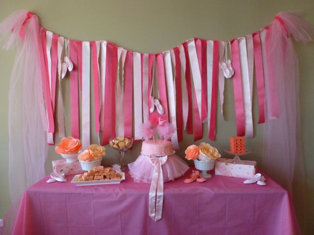 Pink Slippers And Tutus Its A Ballerina Party Kids ThemesParty Ideas For GirlsBallerina