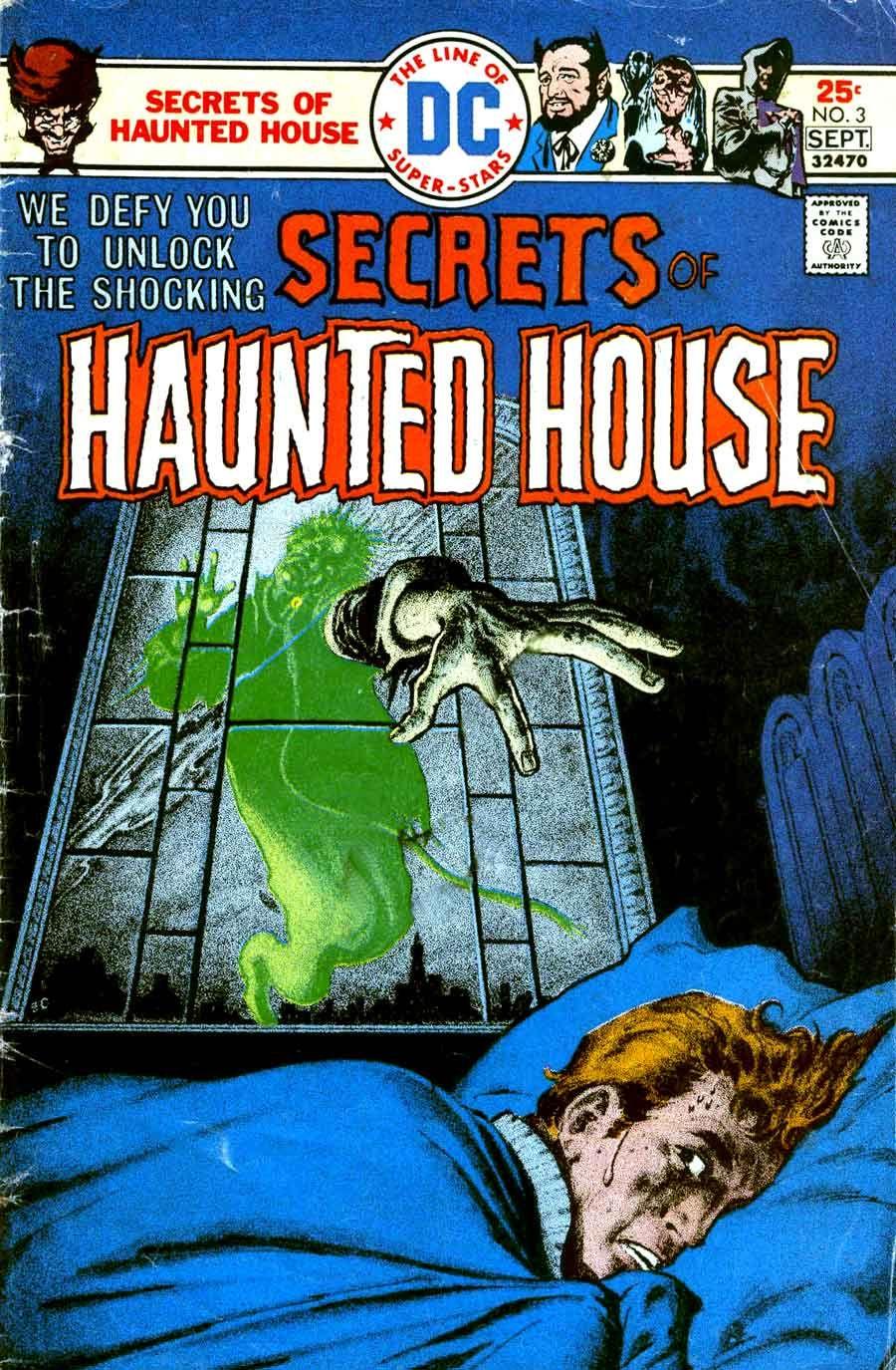 secrets of haunted house comic - Google Search | Vintage Horror