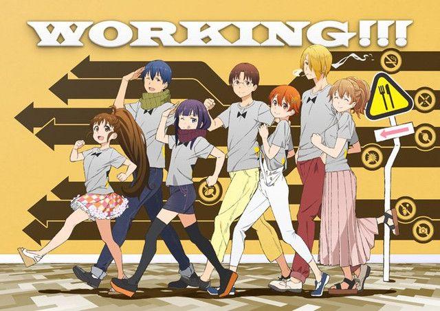 """Crunchyroll - """"Working!!"""" Cast Prepares To Reunite For Event"""