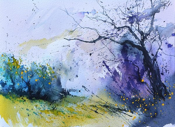Watercolor 716091 Painting Abstract Watercolor Art Landscape
