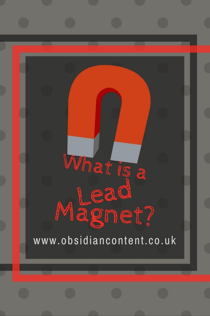 Wondering what's up with all of these freebie resources in exchange for an email address? They're called lead magnets, and they're an awesome method of lead generation...  What is a Lead Magnet?  #contentmarketing #content #freebies #leadmagnet #blog #blogging #marketing #advertising #onlinemarketing #digitalmarketing #leadgeneration #leadnurturing #obsidiancontent #jeniilowe