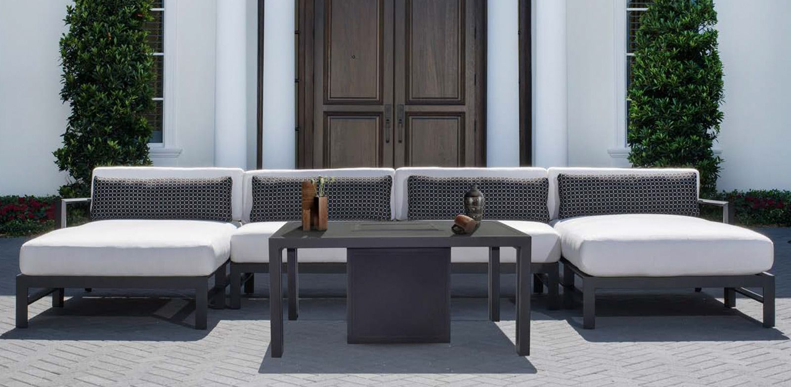 Vertice Collection Castelle Luxury Outdoor Furniture