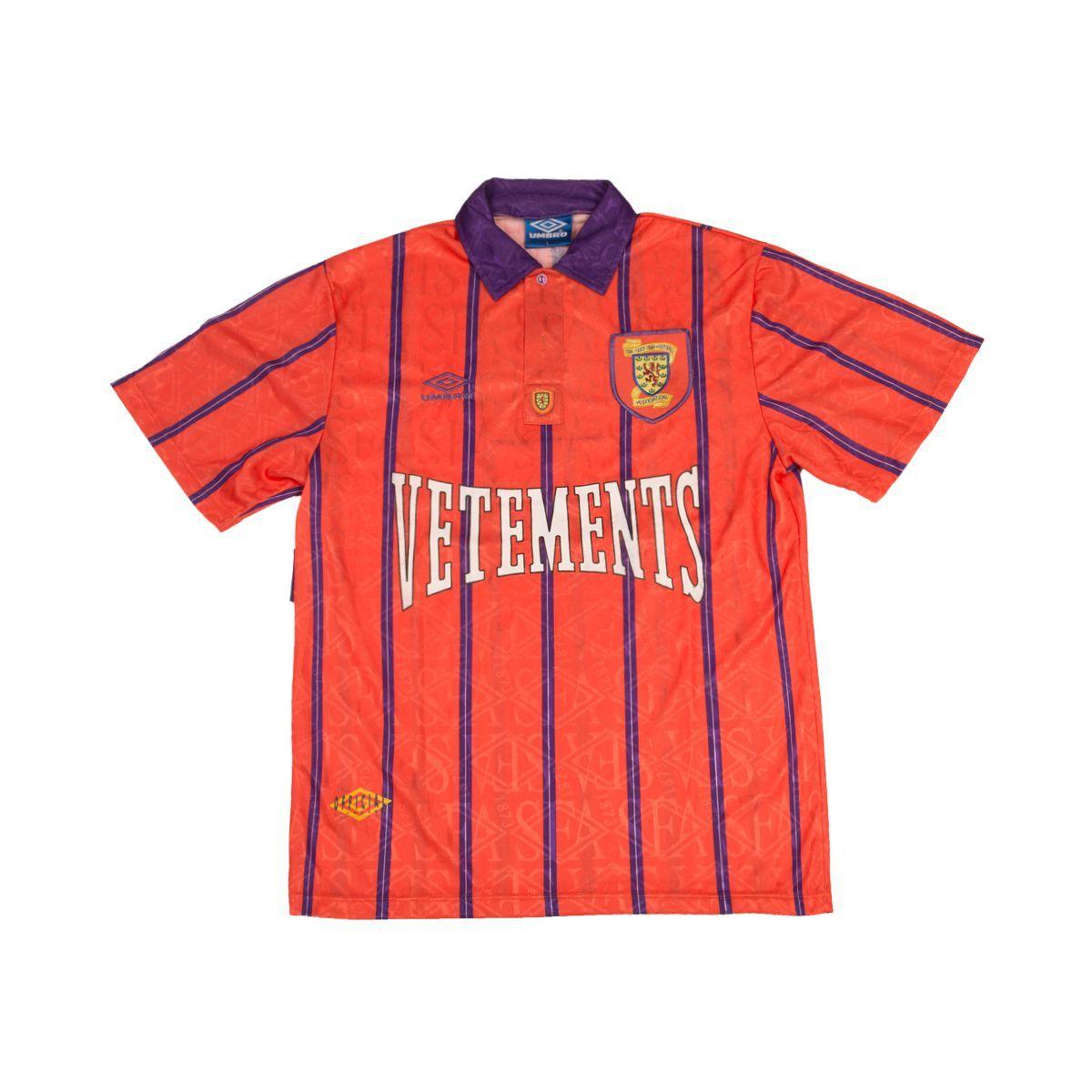 Les Vetements de Football Vetements Scotland 1993 Away Made in Uk ...