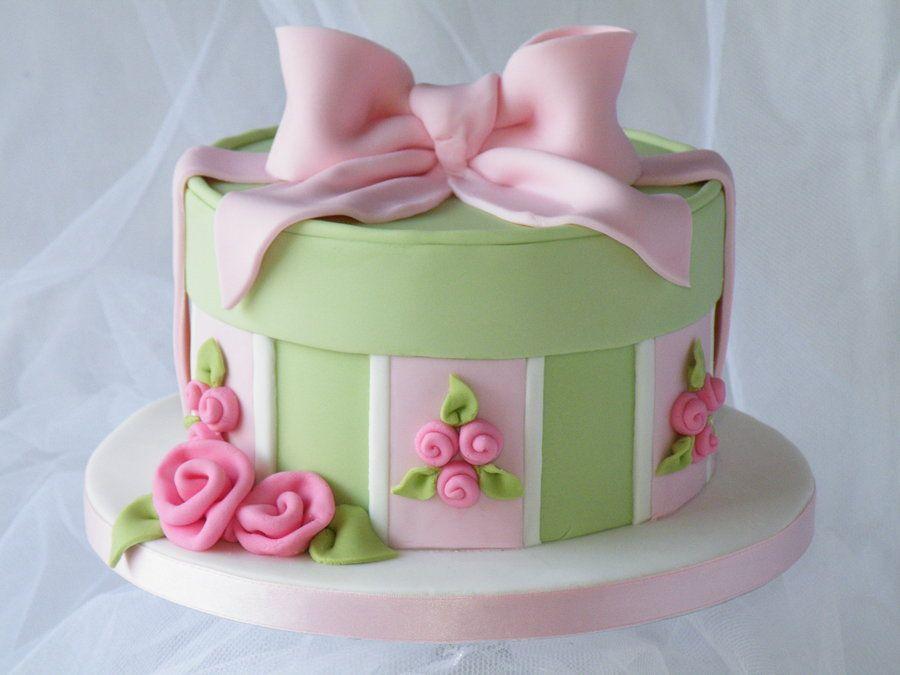 Decorating Hat Boxes Classy Hat Box Cake Cakeheaven  Cakesdecor  Cake Decorating Inspiration Design