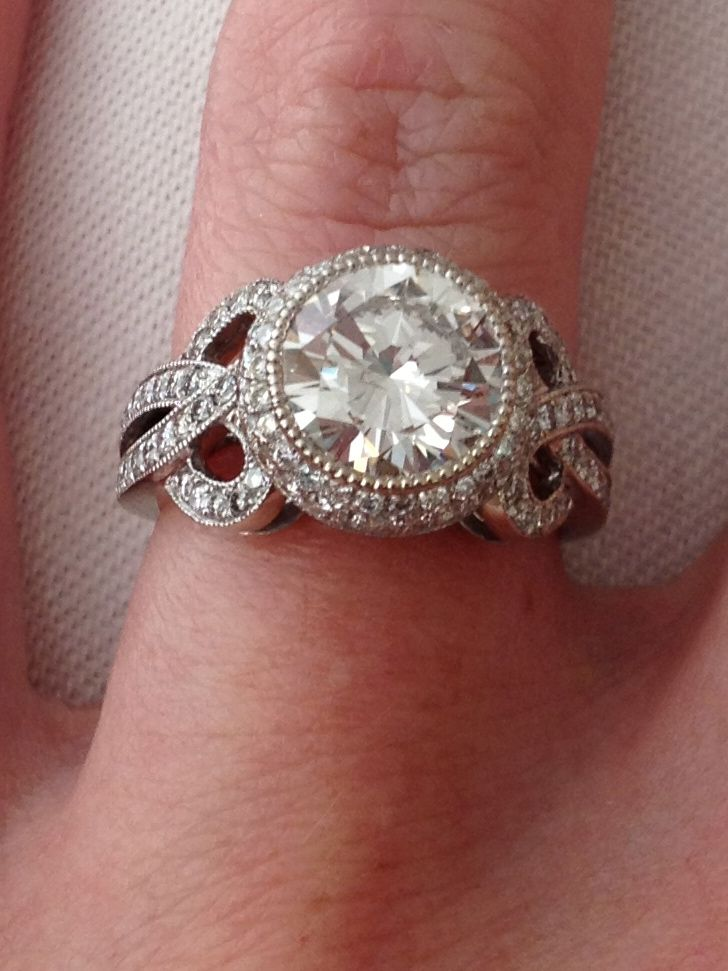 My 10 Year Anniversary Gift Custom Made At Malka Diamonds Custom Engagement Ring Engagement Ring Inspiration Wedding Jewelry