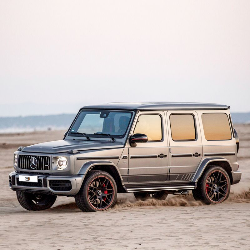 Feel The Luxury Of The 2019 Mercedes Benz G63 Amg In The City