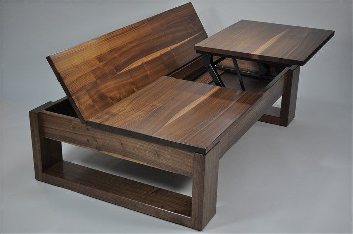 Superior Paul Tellier Fine Woodwork Studio Furniture Design Custom Lift Up Coffee  Table
