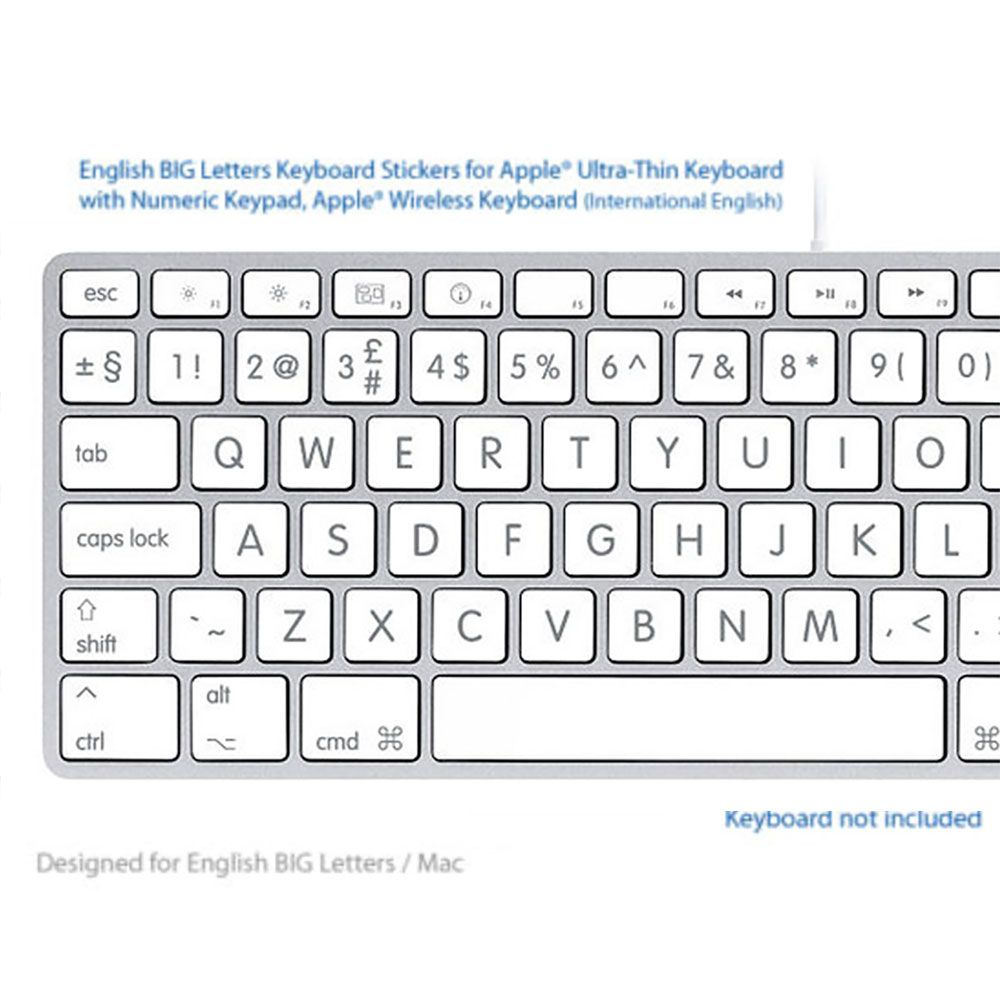The Best LOGIC PRO Keyboard Shortcut Stickers BLACK ADVANCED Ever.