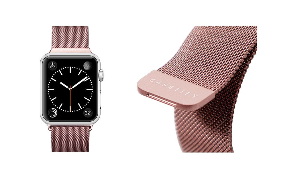 Stainless Steel Mesh Apple Watch Band 38mm Gold Apple Watch Bands Apple Watch Fashion Apple Watch
