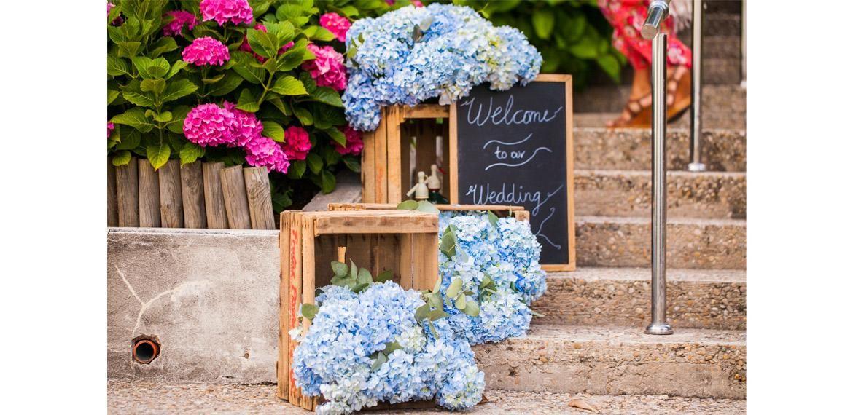 Flores perfectas para una boda: ¡las hortensias!