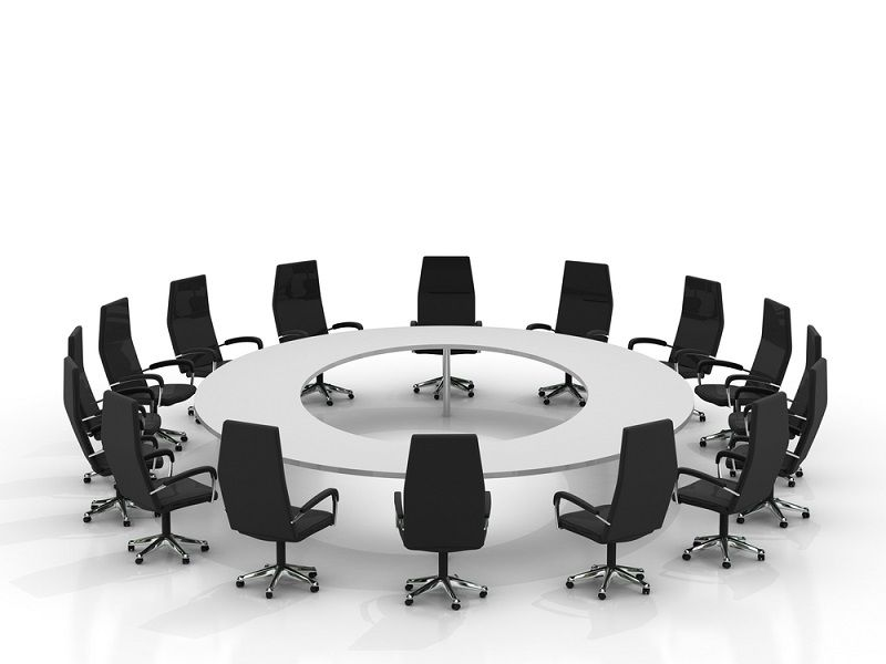 Diffe Types Of Boardroom Tables And, Round Meeting Room Tables