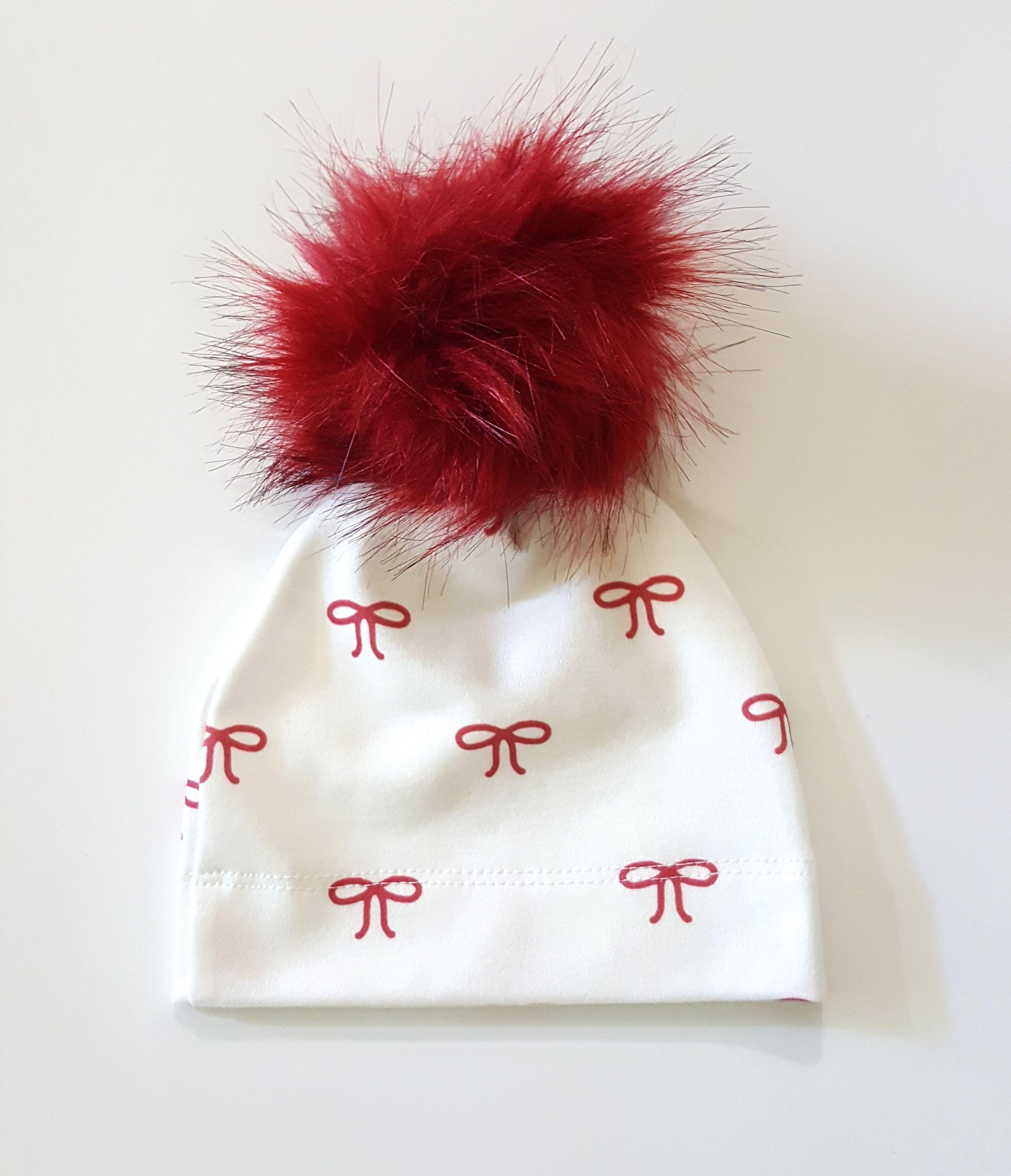 fur hat baby baby girl pom pom hat snap pom hat organic baby beanie with pom baby hat with pom pom pom pom baby hat
