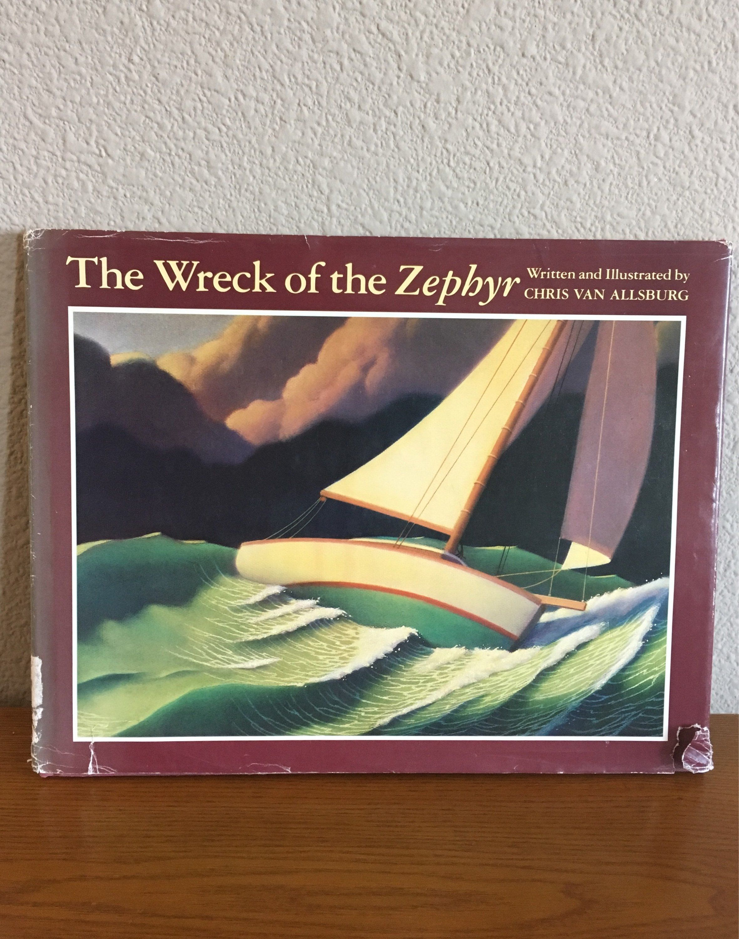 First Edition Copy Of The Wreck Of The Zephyr By Chris