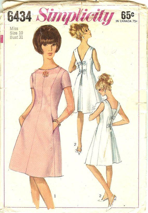 Vintage Dress Pockets