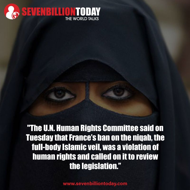 France's Ban On Islamic Veil A Human Rights Violation