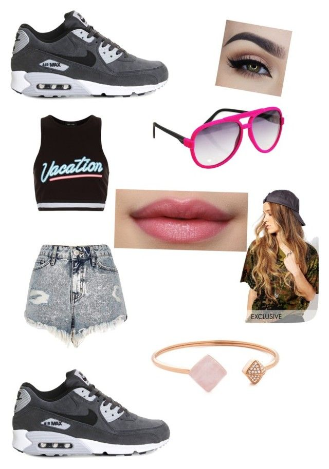 """""""Untitled #37"""" by mindless-esther2308 on Polyvore featuring New Look, River Island, NIKE, Italia Independent, Michael Kors and Reclaimed Vintage"""