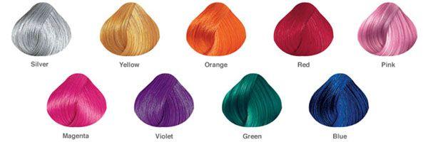 Pravana Chromasilk Vivids Color Chart Dusty Lavender Blue Hair