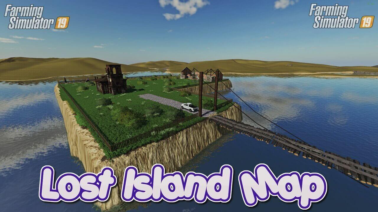 Lost Island Map by Mr.Tbone Farming Simulator 19 in 2020