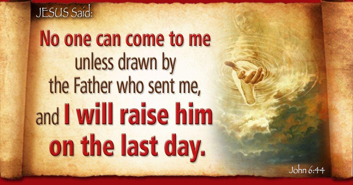Kuvahaun tulos haulle John 6:44