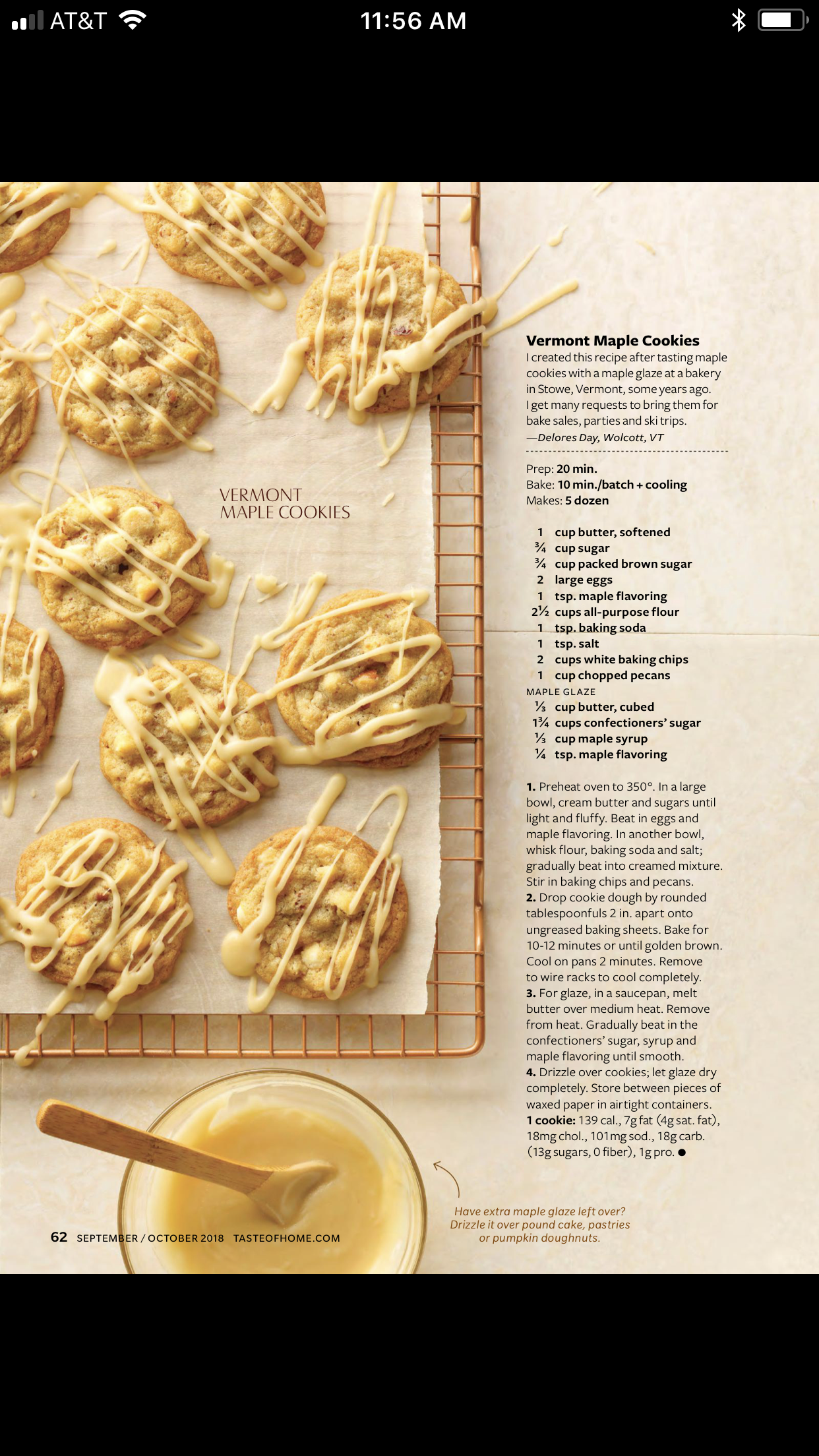 Maple Cookies Sweets Maple Cookies Home Recipes Fall Desserts