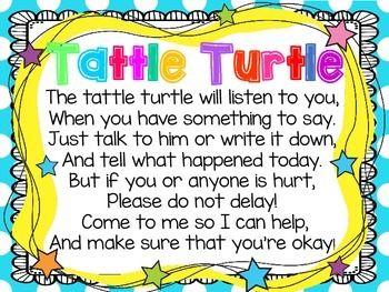 Tattle Turtle poster