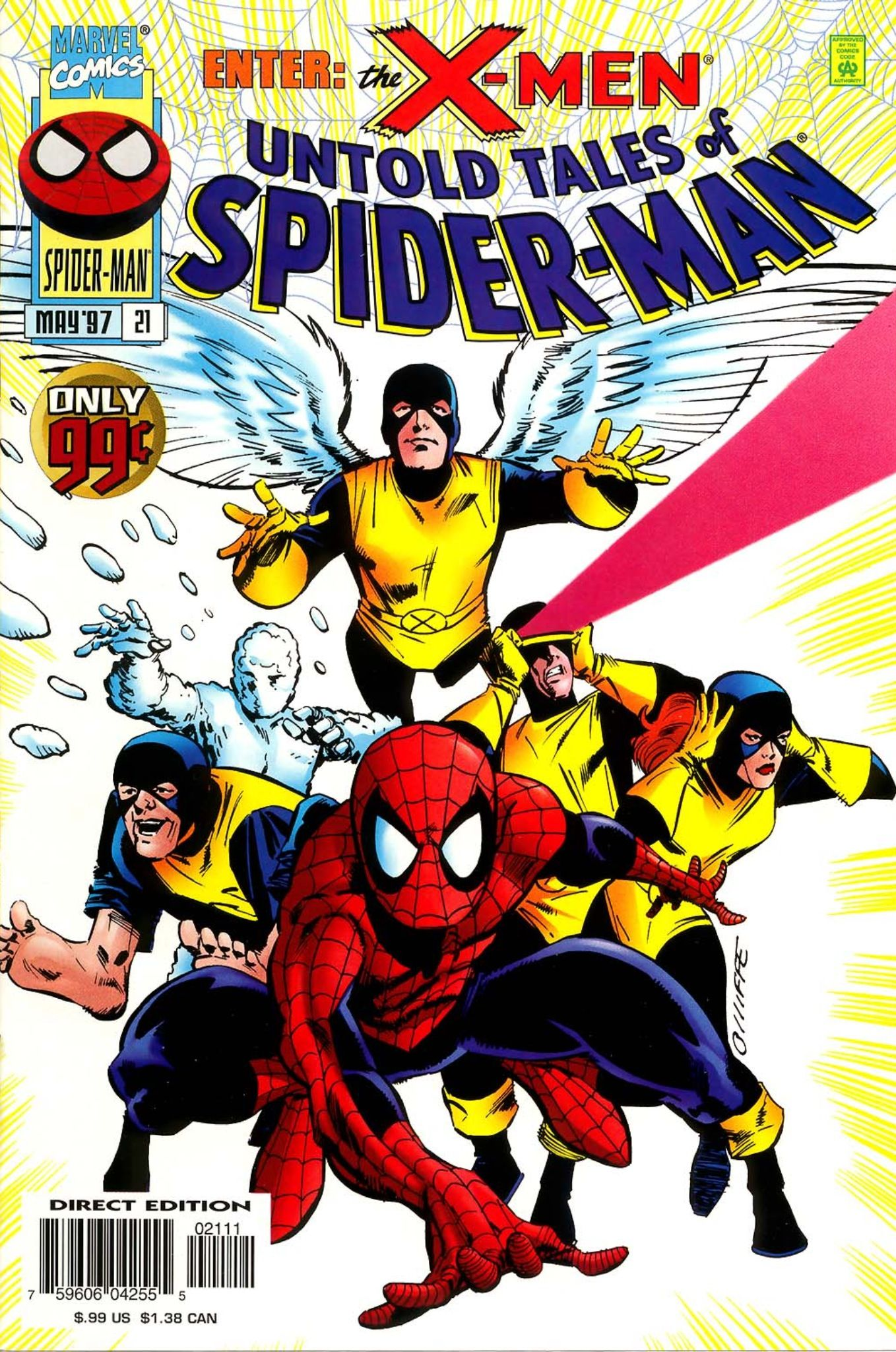 Spider Man And The X Men In Untold Tales Of 21