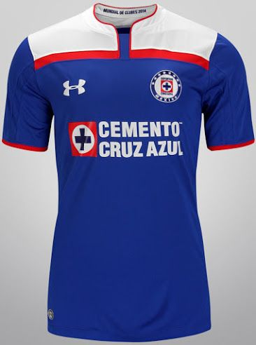 grano Nuez Garganta  Cruz Azul 2014 Club World Cup Kits Revealed | Club world cup, Jersey,  Football tshirts
