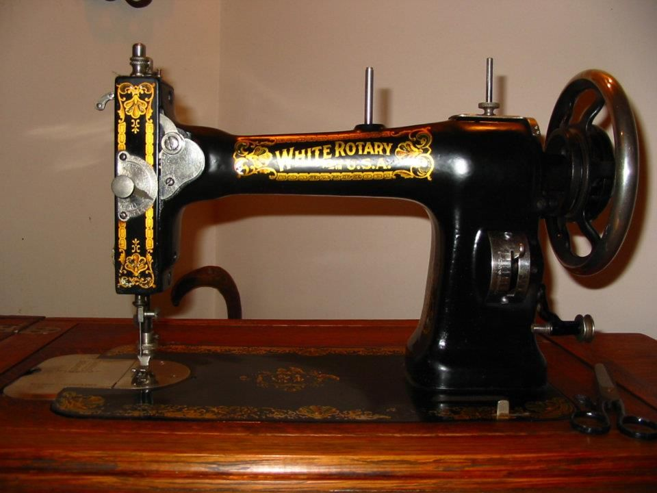 40 White Treadle After Cleaning And Restoration Sewing Fascinating 1913 White Rotary Sewing Machine