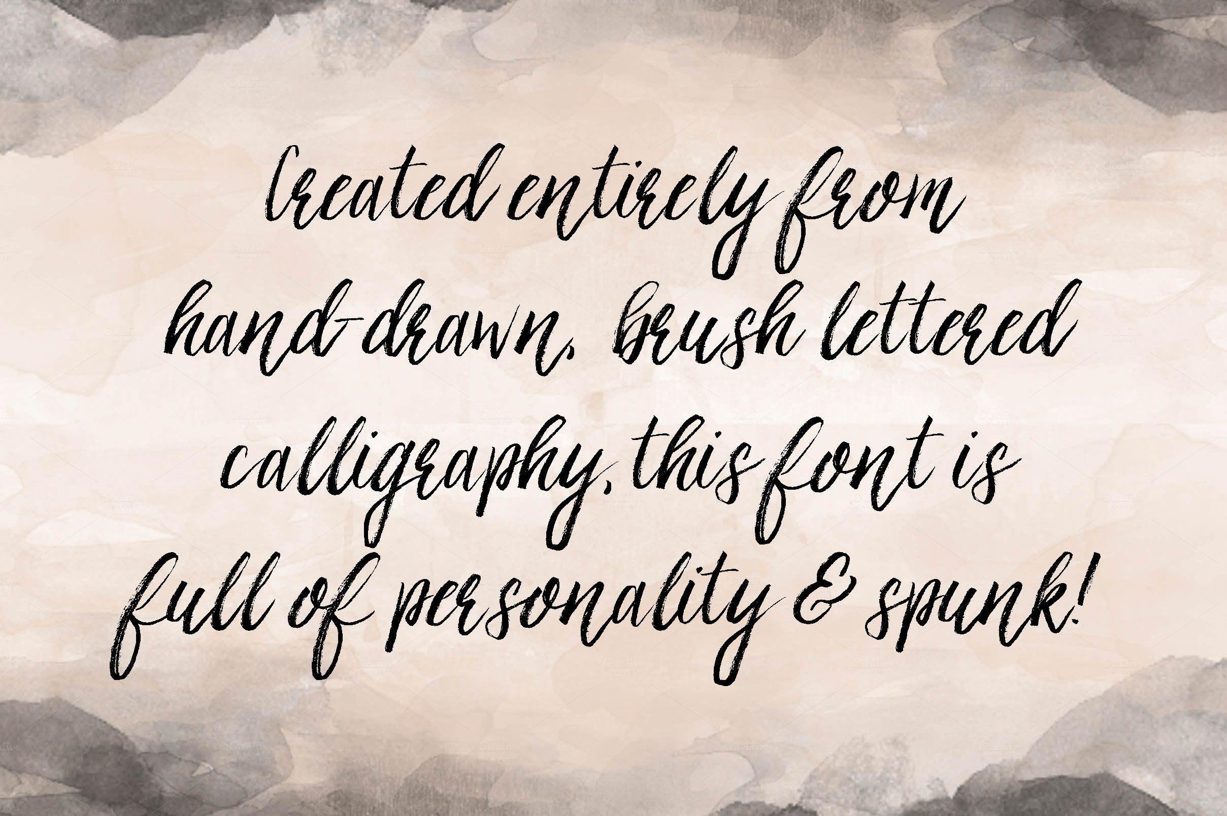 Ashley brush script by printable wisdom on @creativemarket fun