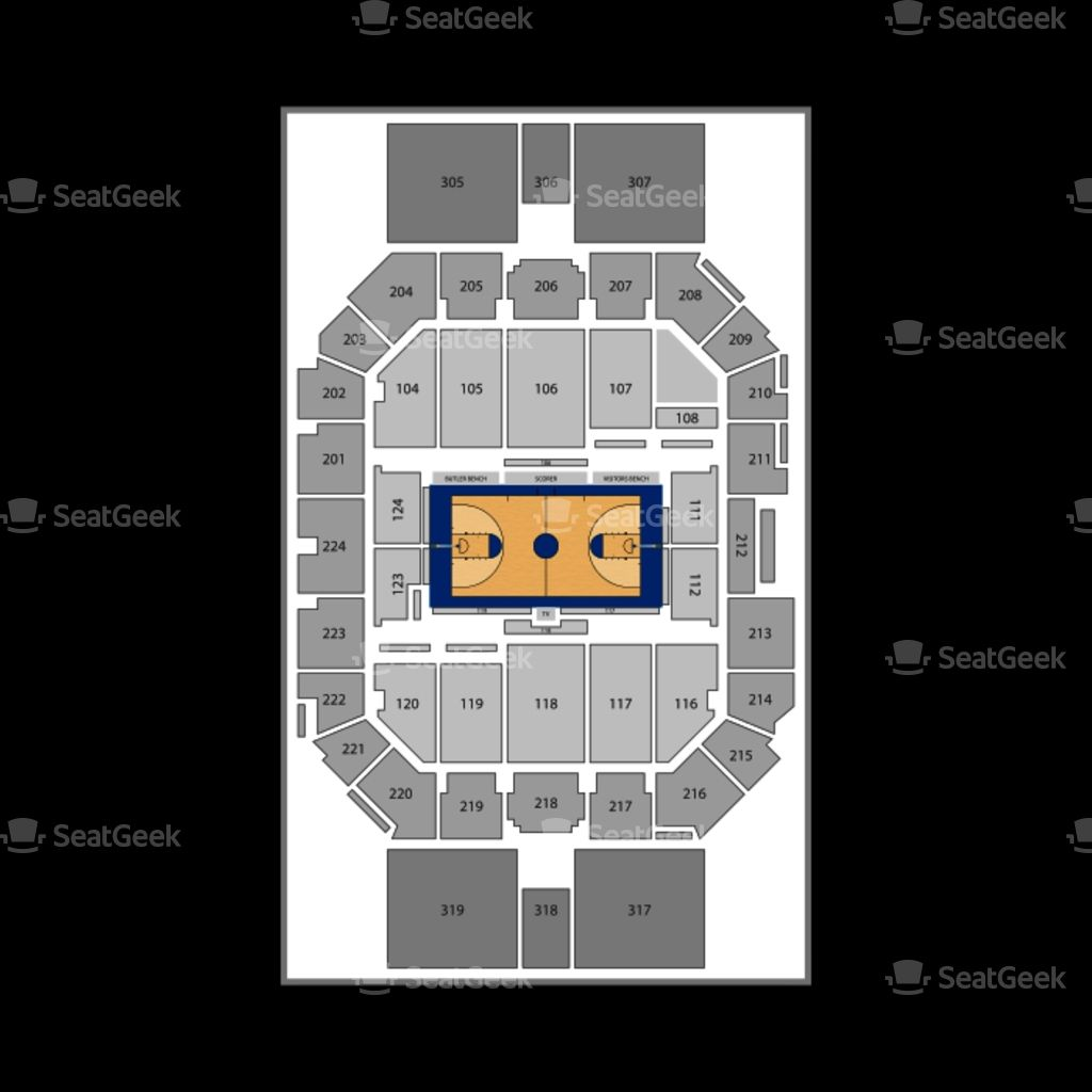 Hinkle Fieldhouse Seating Chart Di 2020