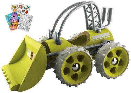 Hape 5517 Bamboo Wood E-Dozer Green Bulldozer with Coloring Book Hape http://www.amazon.com/dp/B00JDZBPE8/ref=cm_sw_r_pi_dp_LJLqwb0GT8CVC