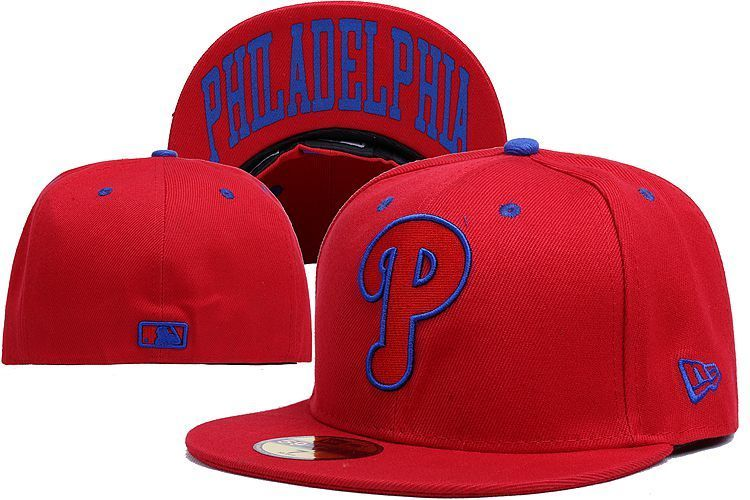 Philadelphia Phillies MLB Classic Collection Baseball Cap Embroidered Team logo Popular Fitted Hat