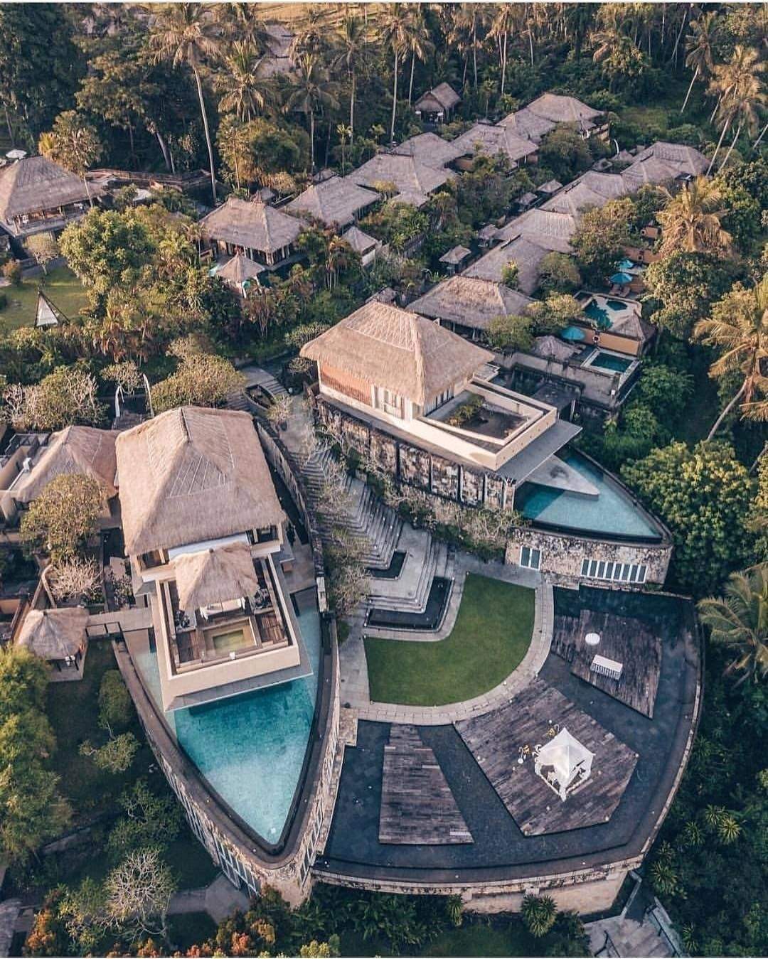 Kamandalu ubud bali resort pools in 2019 bali for Design hotel ubud