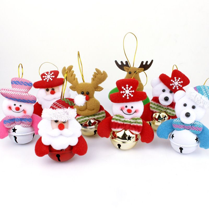 Santa Claus Snowman Dolls Pendant Christmas Tree Decorative
