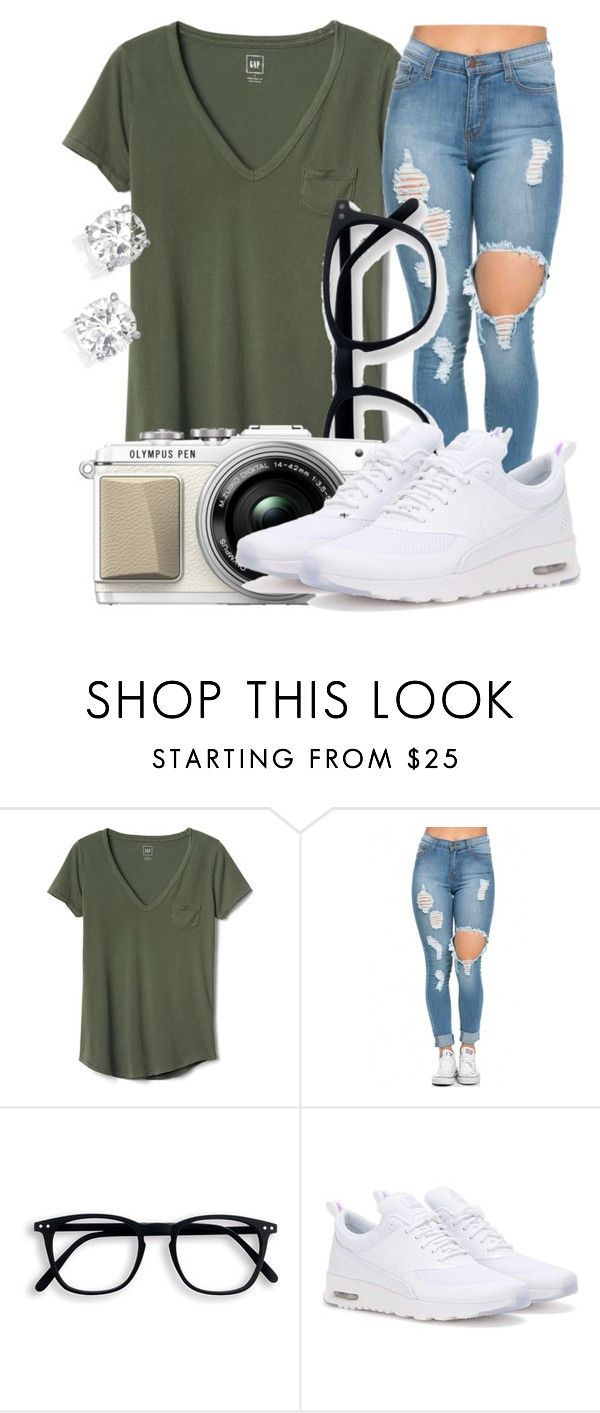 """""""Untitled #451"""" by msfts-rep on Polyvore featuring Gap and NIKE"""