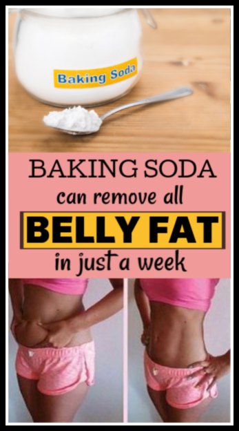 Baking soda can remove all belly fat in 1 week #weightloss