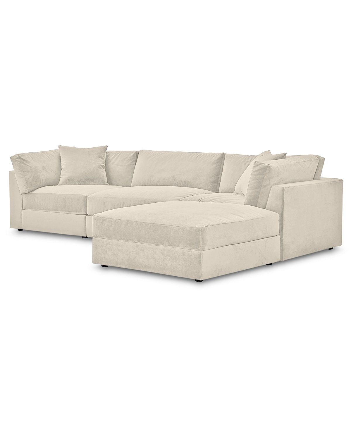 Couches 4 Aryanna 4 Pc Modular Sofa With Ottoman Custom Color Only At