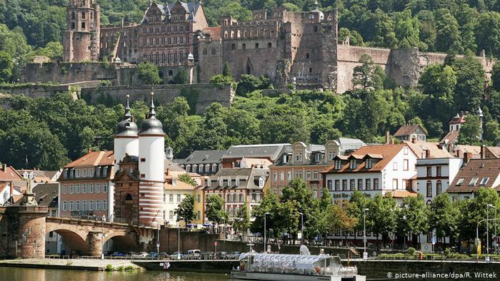 BADENWÜRTTEMBERG Region Heidelberg and its romantic