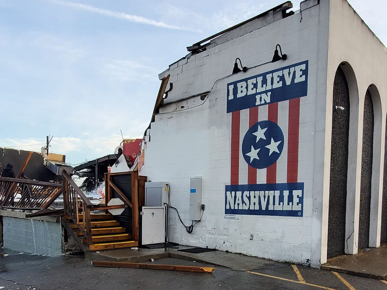 Midnight Tornado Damages Multiple Restaurants and Bars in