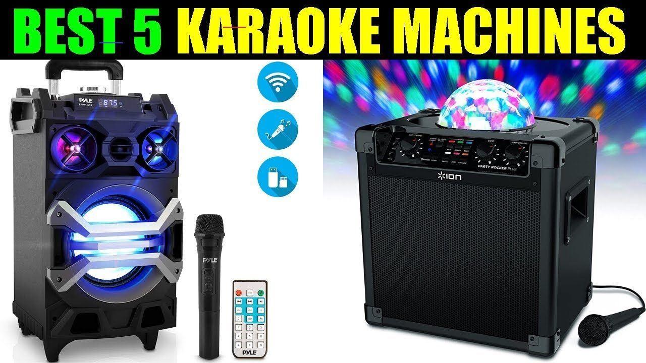 Top 5 best karaoke machines 2020 bestkaraokemachine in