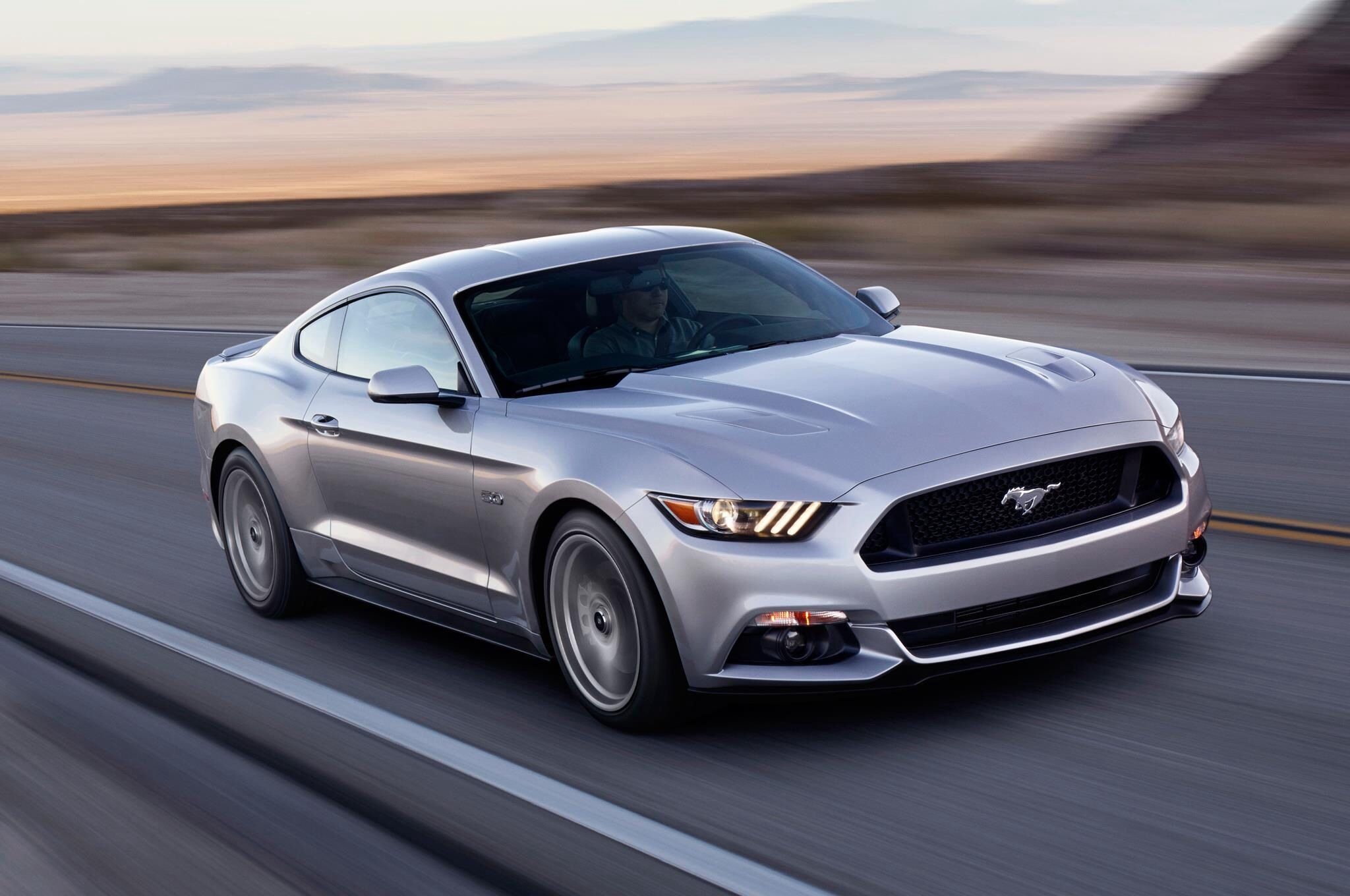 2015 ford mustang via automobile magazine