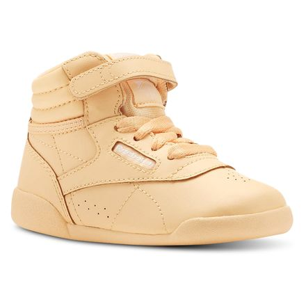 a5b24f3e1 Reebok Unisex Freestyle Hi Colors in Desert Glow   White Size 10 -  Fitness