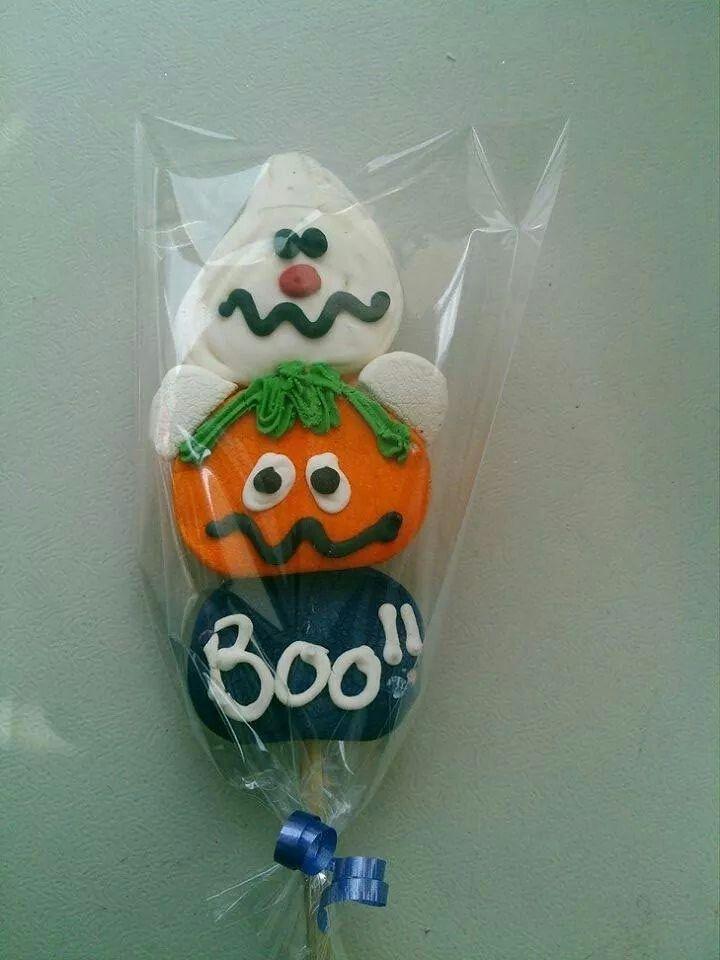 Halloween pasteles Pinterest Bombones, Paletas y Brochetas