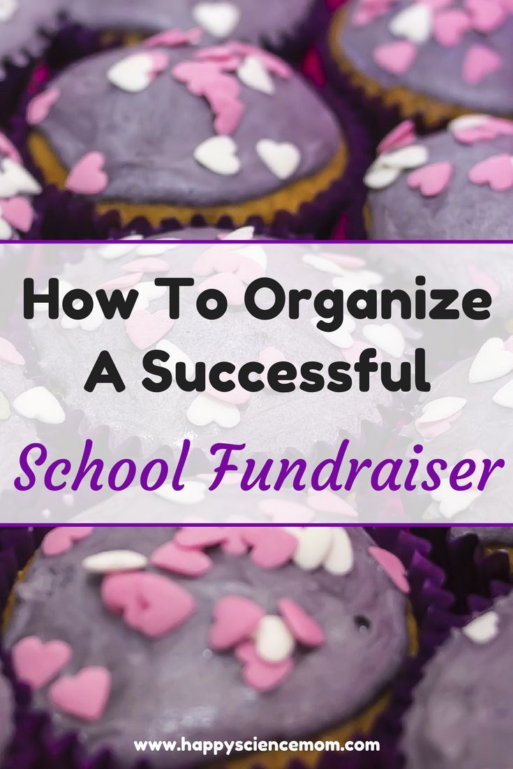 how to organize a bake sale