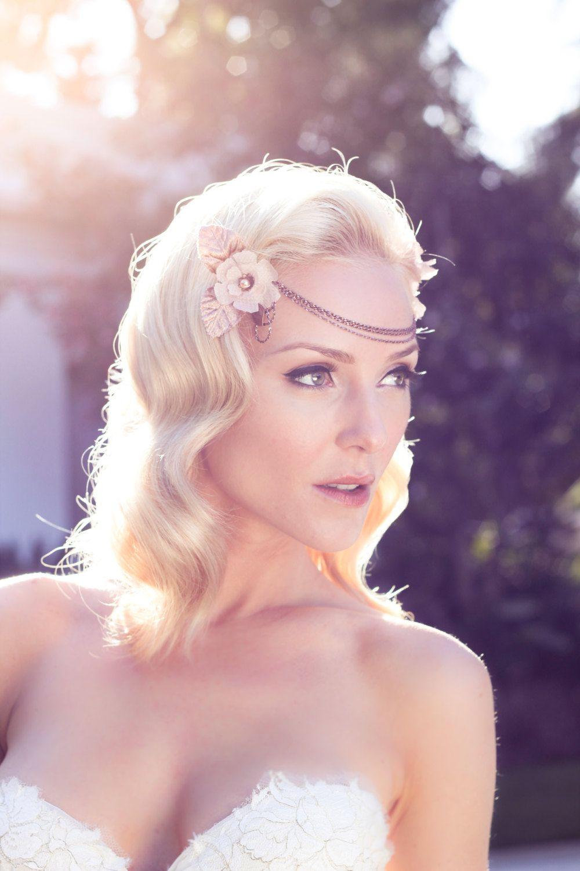 rose gold bohemian wedding headdress   Wedding ideas   Pinterest ...