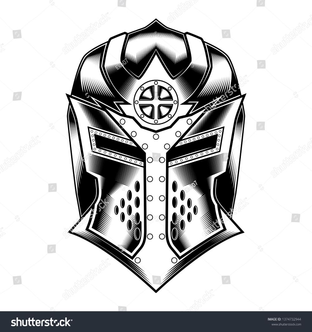 Pin By Cross Kodirart On The Art Knights Helmet Helmet Armor Vector Illustration