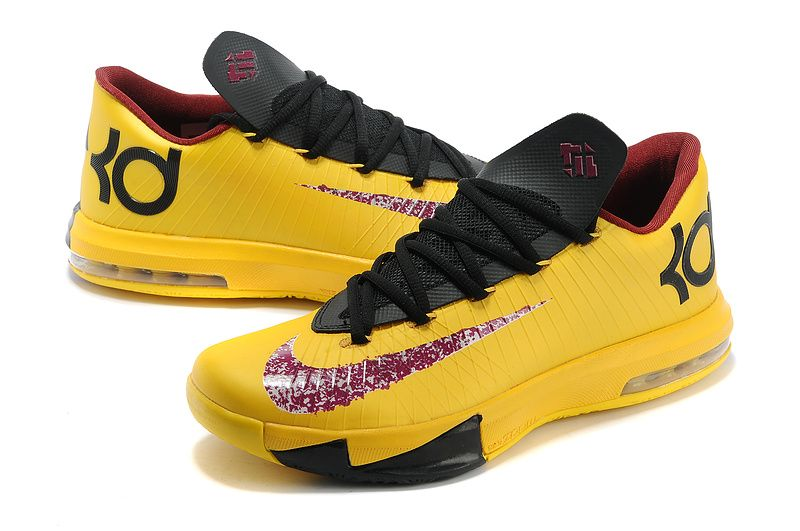 Find Nlke KD Vi Mens Yellow Black For Sale online or in Footlocker. Shop  Top Brands and the latest styles Nlke KD Vi Mens Yellow Black For Sale at  ...