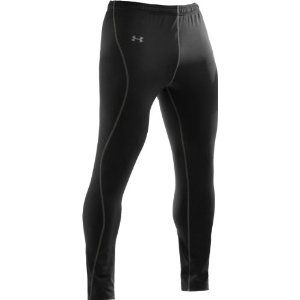 Mens UA EVO ColdGear Fitted Leggings Bottoms by Under Armour (Misc.)